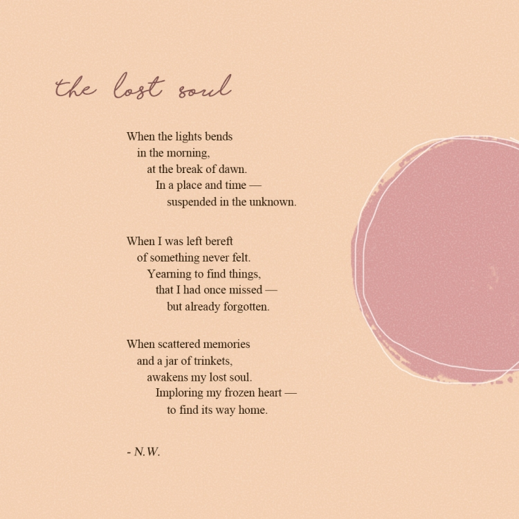 Neen Writes The Lost Soul Poem